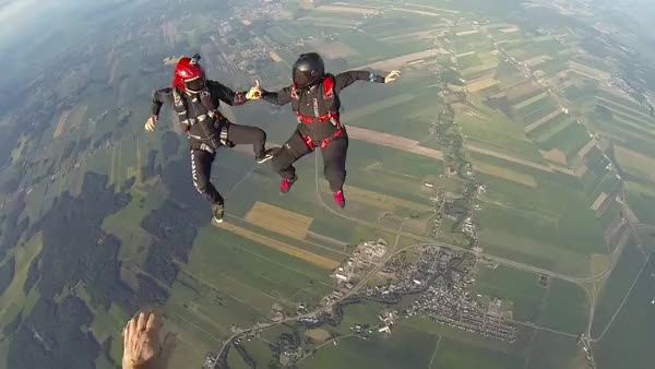 Watch and share Skydiving GIFs on Gfycat