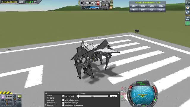 Watch it doesn't want to walk forwards GIF by Capital-Asterisk (@capital_asterisk) on Gfycat. Discover more kerbalspaceprogram GIFs on Gfycat