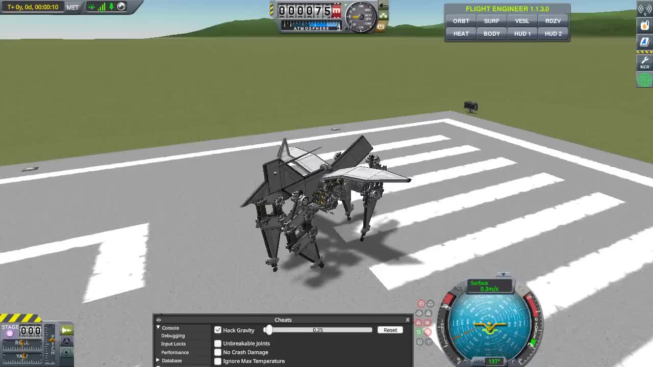 kerbalspaceprogram, it doesn't want to walk forwards GIFs