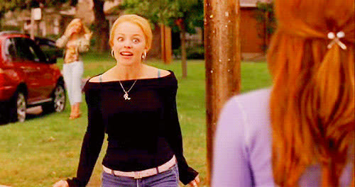 rachel mcadams, rachelmcadams, mean girls, regina george, school bus, cady GIFs