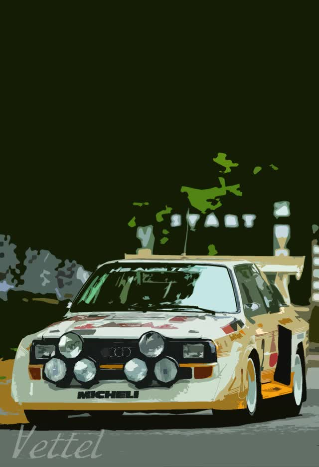 Watch and share Audi-quattro-hemmings-daily.gif GIFs on Gfycat