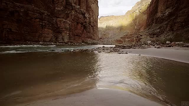 Watch Water flowing through the Grand Canyon. [870x490] (reddit) GIF by @orbojunglist on Gfycat. Discover more EarthPornGifs, cinemagraphs, earthporngifs GIFs on Gfycat