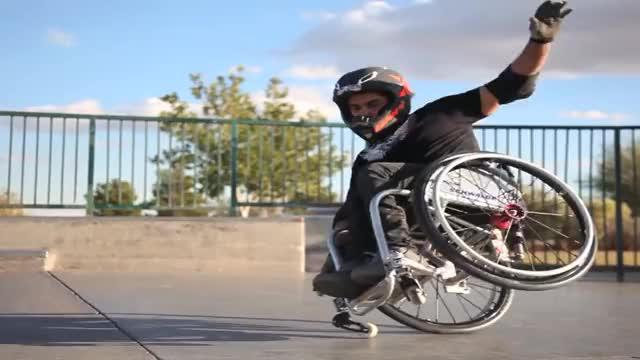 Watch and share Wheelchair GIFs and Backflip GIFs on Gfycat