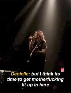 Watch and share Danielle Haim GIFs and Haim The Band GIFs on Gfycat