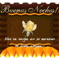Watch and share Buenas Noches animated stickers on Gfycat