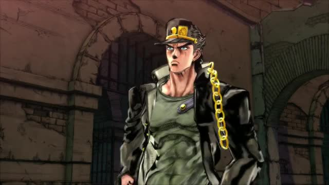 Watch and share Star Platinum Vs Sticky Fingers (EOH) GIFs by rowanssbm on Gfycat