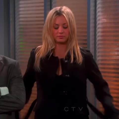 Watch this big bang theory GIF by MikeyMo (@mikeymo) on Gfycat. Discover more big bang theory, black dress, cleavage, dress, hot girl, kaley cuoco, penny, sexy, the big bang theory GIFs on Gfycat