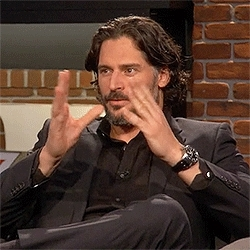 BY THE POWER OF GRAYSKULL, Joe Manganiello, The Nerdist, by the power of grayskull, joe manganiello, my gifs, the nerdist, Sexy spank GIFs