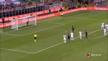Watch and share Niang Gol Milan Lazio GIFs on Gfycat