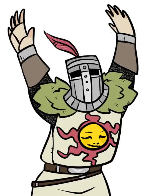 Watch and share Praise The Sun GIFs on Gfycat