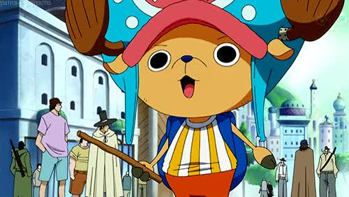 Watch tony tony chopper one piece gif GIF on Gfycat. Discover more related GIFs on Gfycat