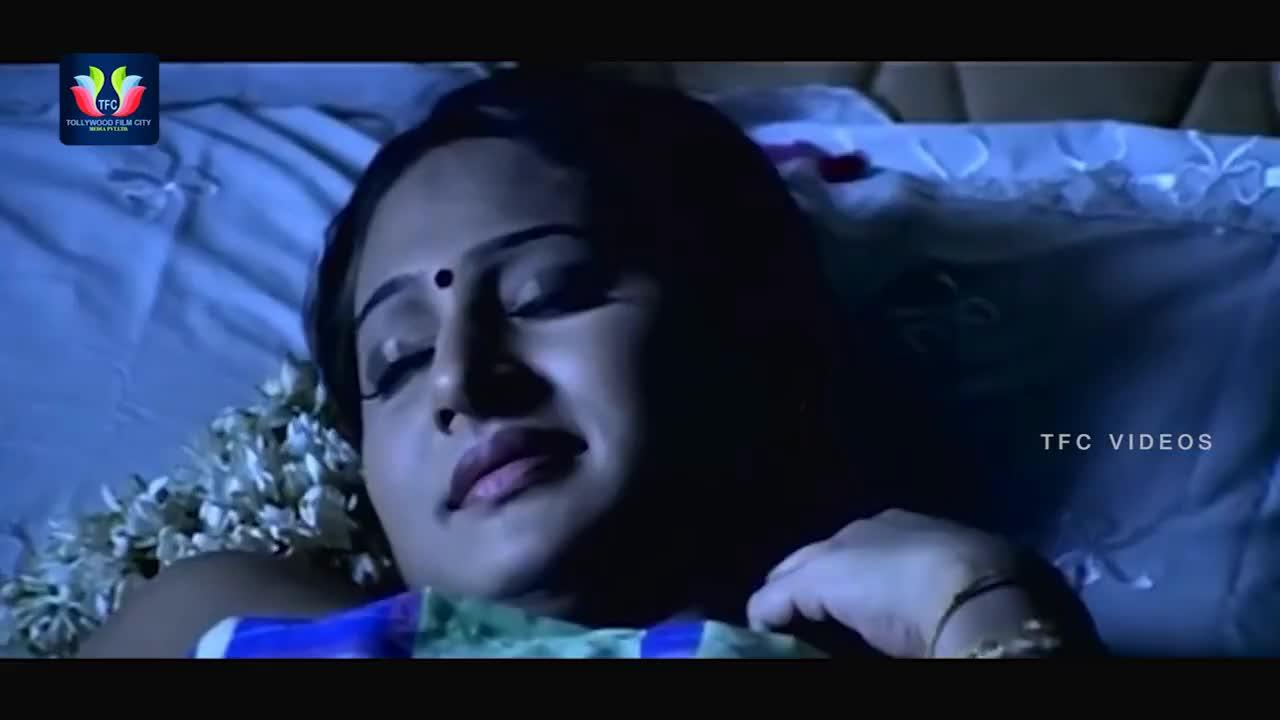 First Night Scene   Aruguru Pativratalu Telugu Movie Part 2   Amrutha   TFC Videos GIFs