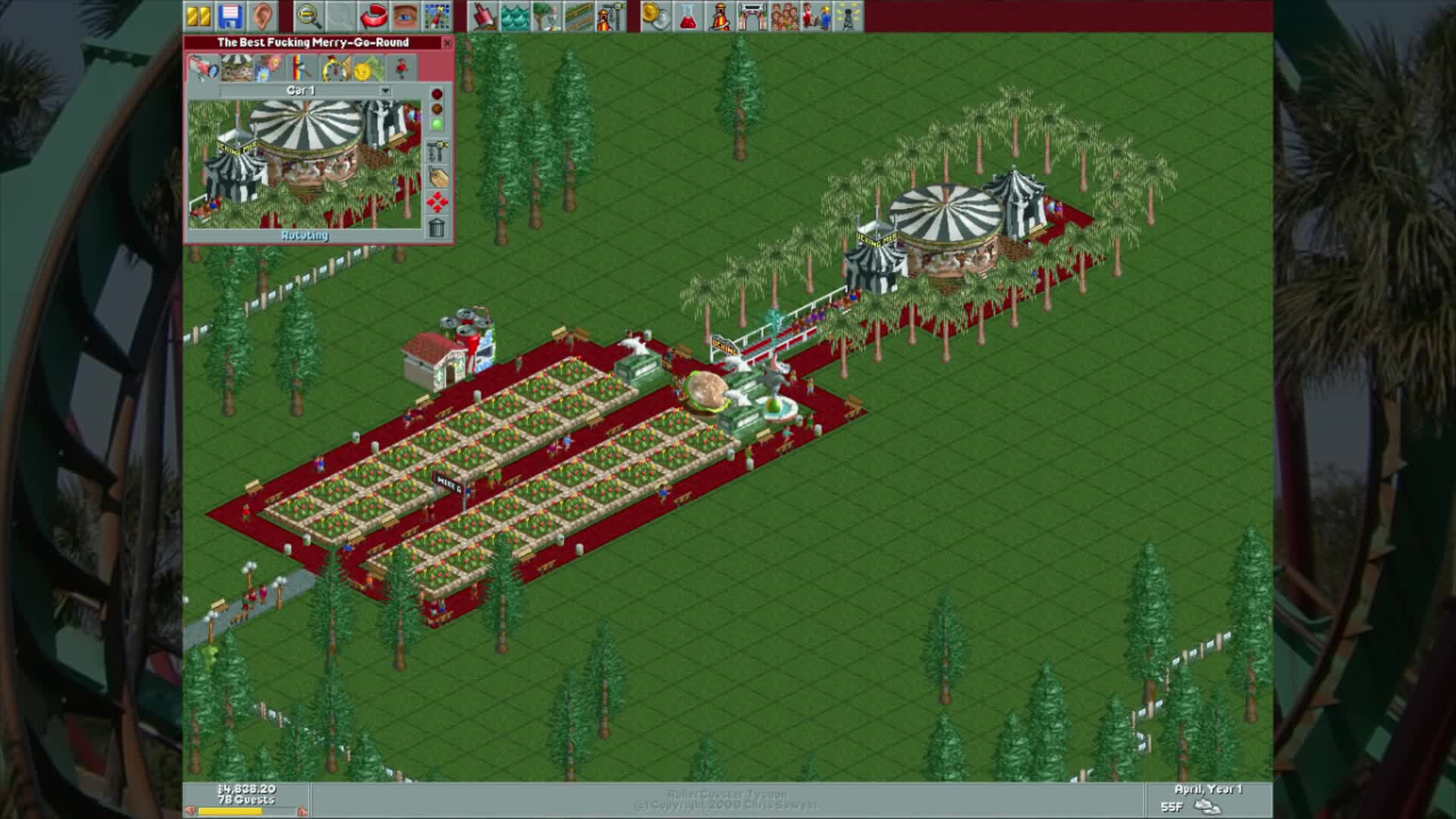 Forest Frontiers, Gaming, RCT, RCT1, Roller Coaster Tycoon, let's play, lp, silveragescientist, RCT 9jioswdejf90834erfj90384rtf GIFs