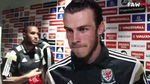 Watch this gareth bale GIF on Gfycat. Discover more Gareth Bale, bale, espectiallythefirstgif, gareth bale, he's cute, imabouttodie, soccer, wales GIFs on Gfycat