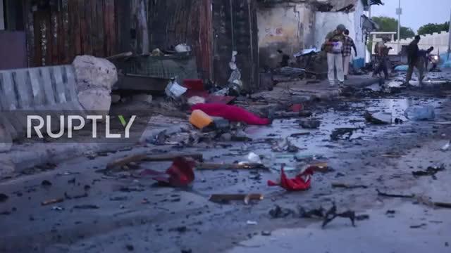 Somalia- Car bomb near Mogadishu's port kills 5 GIFs