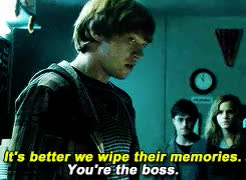 Watch Bloody Brilliant GIF on Gfycat. Discover more 1k, and hate, harry potter, hp*, hpedit, hpgif, i love rupert's expression in these scene, i love you, my edits*, my gifs*, ron weasley, rupert grint, the deatheaters, ugh, you can see in his eyes that he genuinely angry GIFs on Gfycat