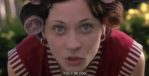Watch post youll be cool zooey descha GIF on Gfycat. Discover more related GIFs on Gfycat