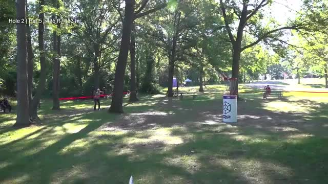 Watch Round Three 2018 Discraft's Great Lakes Open - Sarah Hokom hole 2 GIF by Benn Wineka UWDG (@bennwineka) on Gfycat. Discover more dgpt, disc golf, disc golf pro tour GIFs on Gfycat