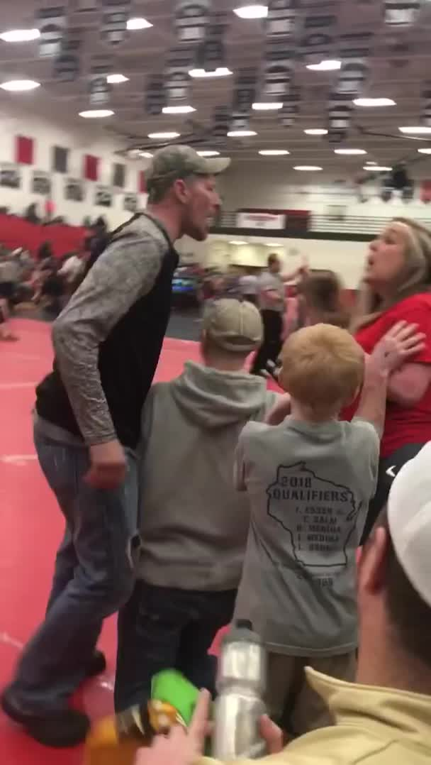 TexGoose, Youth Wrestling Match Brawl GIFs