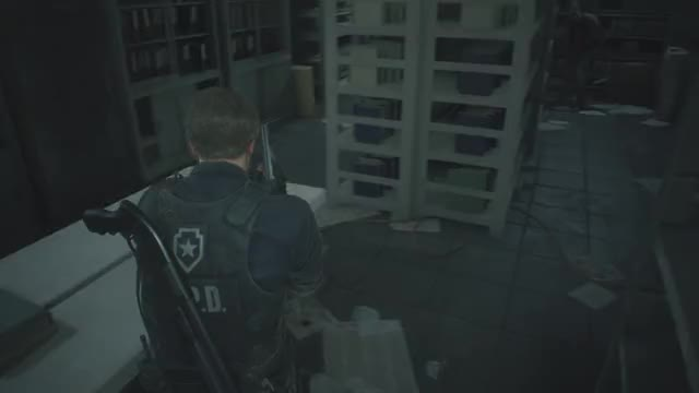 Watch Scary GIF by @rad_dude124 on Gfycat. Discover more PS4share, Gaming, PlayStation 4, RESIDENT EVIL 2, Rad Dude, Sony Interactive Entertainment GIFs on Gfycat