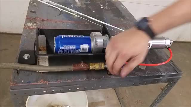 Watch and share Pneumatic Aluminum Can Crusher GIFs by PM_ME_STEAM_K3YS on Gfycat