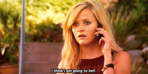 reese witherspoon, Most popular tags for this image include: quote, this means war, blond ... GIFs