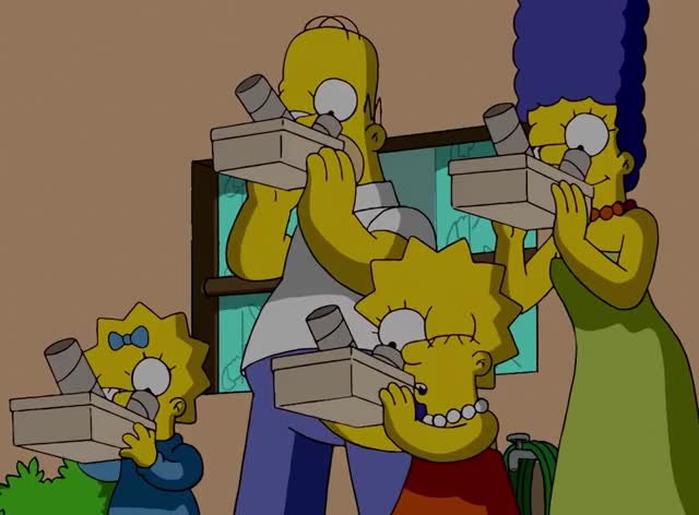 Watch this simpsons GIF by GIF Queen (@ioanna) on Gfycat. Discover more 2017, GIF Brewery, earth, eclipse, eclipse17, gif brewery, moon, simpsons, sun, the simpsons GIFs on Gfycat
