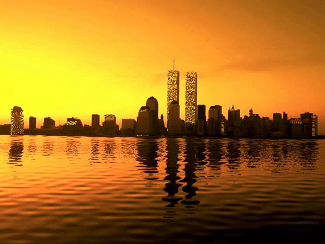 Watch and share REMEMBRANCE OF TWIN TOWERS By Aim4Beauty  Watch Digital Art / Animation GIFs on Gfycat