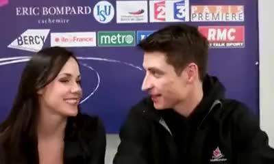 Watch tessa & scott in paris 3 GIF on Gfycat. Discover more skaters GIFs on Gfycat