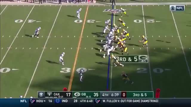 Watch and share Green Bay Packers GIFs and Oakland Raiders GIFs on Gfycat
