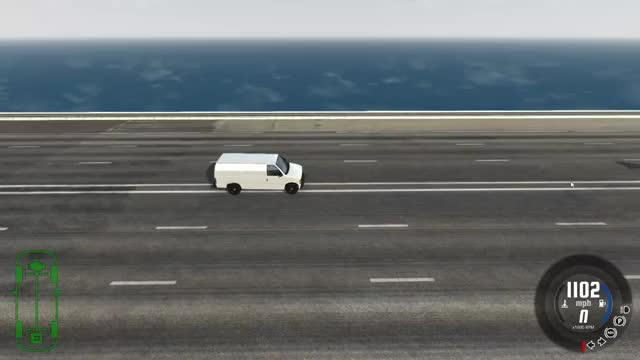 Watch [BeamNG.drive] Future car tears through van at 1000mph (reddit) GIF on Gfycat. Discover more GamePhysics GIFs on Gfycat