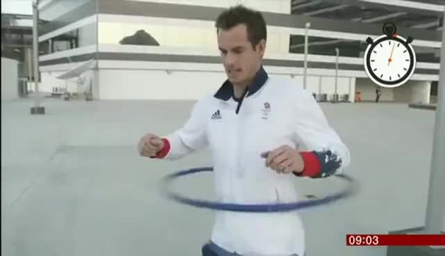Watch and share Andy Murray GIFs and Hula Hoop GIFs on Gfycat