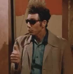 Watch and share Michael Richards GIFs and Giddy Up GIFs on Gfycat