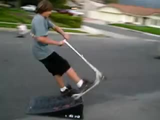 Watch scooter GIF on Gfycat. Discover more fail GIFs on Gfycat