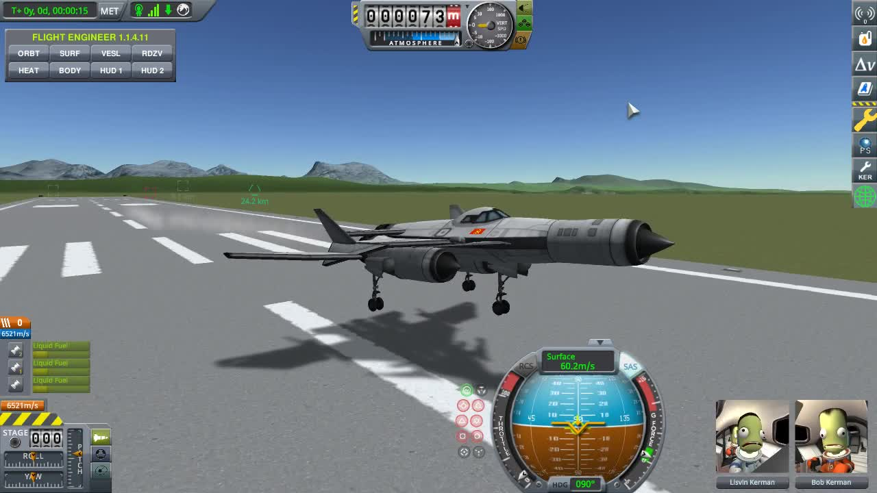 kerbalspaceprogram, KSP Ground Effect Mod Test II GIFs