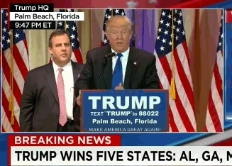 chris christie, donald trump, will arnett, I've made a Yuge Mistake. • r/arresteddevelopment GIFs