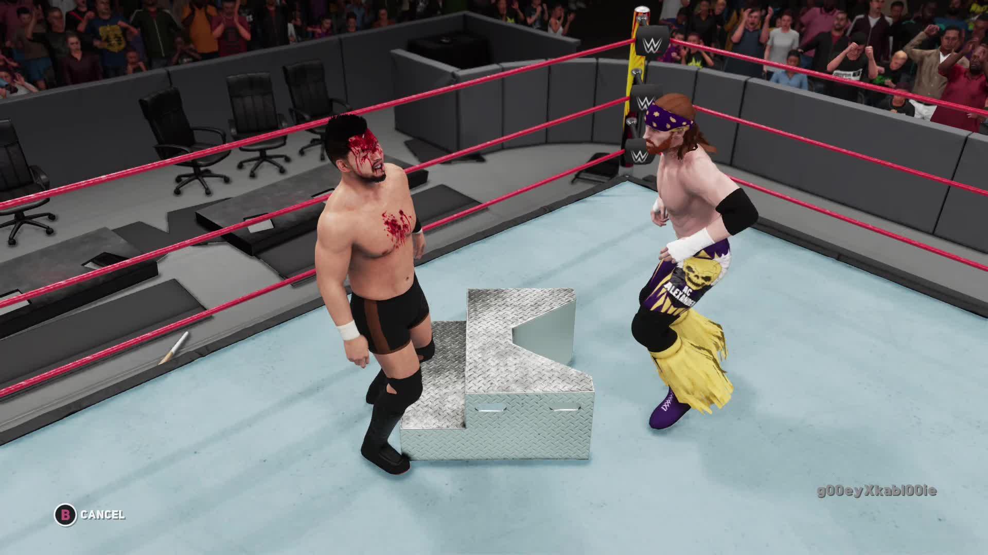 WWE2K18, g00eyXkabl00ie, xbox, xbox dvr, xbox one,  GIFs
