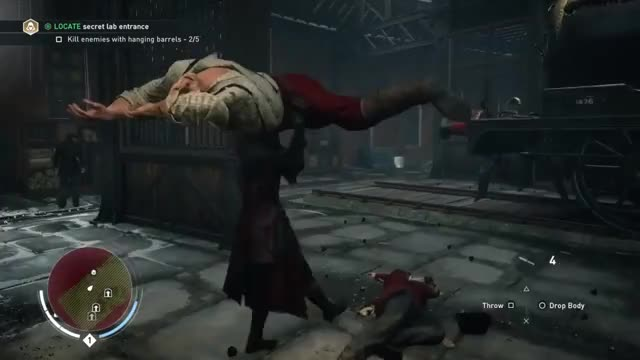 Assassin's Creed Syndicate - Body Carrying Glitch