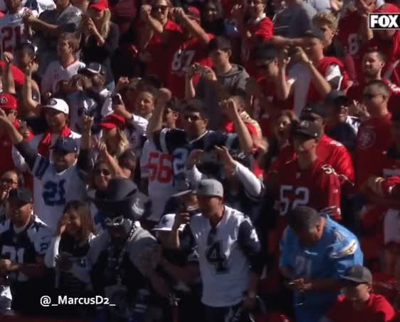 Watch and share Dallas Cowboys Fan GIFs by MarcusD on Gfycat