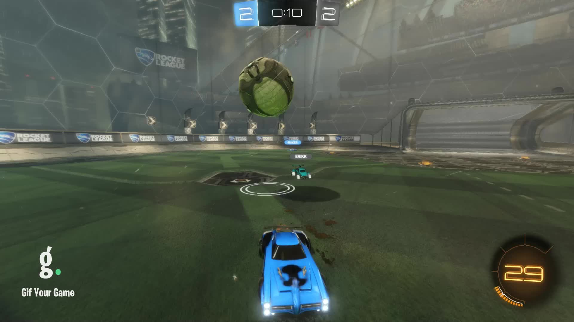 Gif Your Game, GifYourGame, Rocket League, RocketLeague, Save, SwolSquirrel, Save 7: SwolSquirrel GIFs
