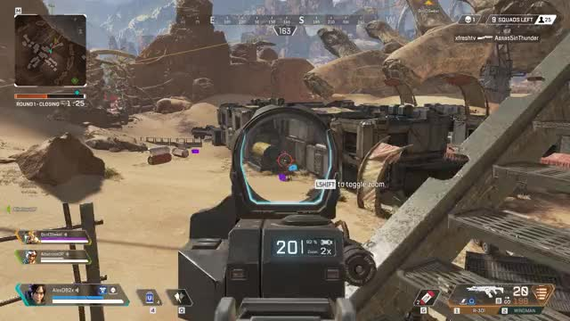 Watch and share Apex Legends GIFs and Wraith GIFs by Alex Garza on Gfycat