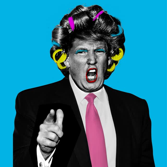 Watch and share Doña Trump – Peralta Project GIFs on Gfycat