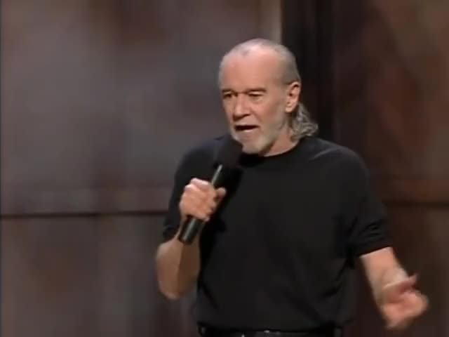 Watch George Carlin on some cultural issues. GIF by @klasics on Gfycat. Discover more celebs, george carlin GIFs on Gfycat
