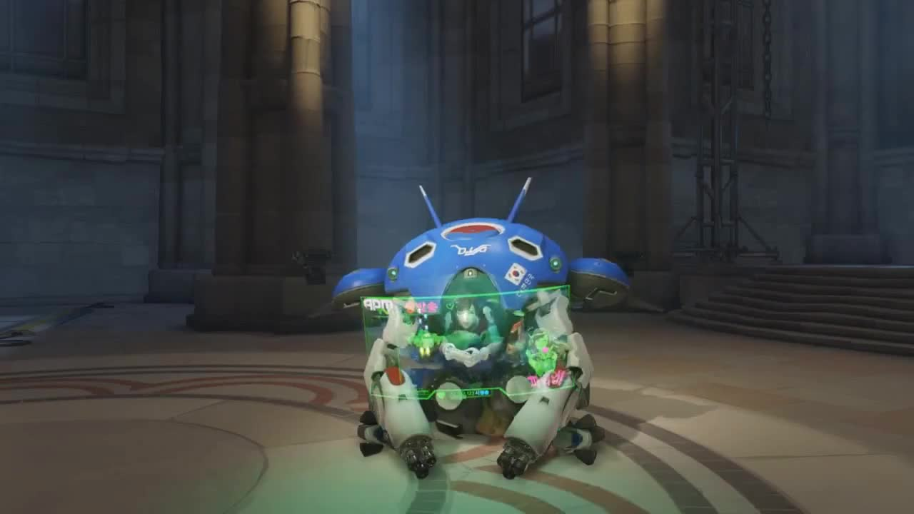 60fps, All Tags, Bastion, Blizzard, Keemstar, LUCIO, Live, Mei, PC, Reinhardt, Tracer, competitive, genji, hanzo, konshu, leafyishere, mccree, mercy, ovarywatch, semi-pro, [ OVERWATCH ] D.Va Game On | Emote GIFs