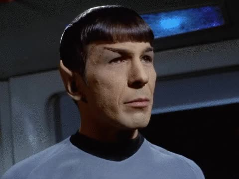 Watch spock kiss my ass GIF by @danslimmon on Gfycat. Discover more scifi, startrek GIFs on Gfycat