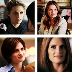 """Watch anon request. """"could u pls make a gif of kate smiles? thanks GIF on Gfycat. Discover more Castle, Detective Beckett, Kate Beckett, Katherine Beckett, Stana Katic GIFs on Gfycat"""