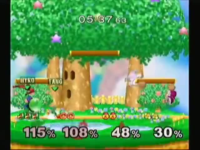 Watch and share Super Smash Bros GIFs and Melee GIFs by Benjamin L. on Gfycat
