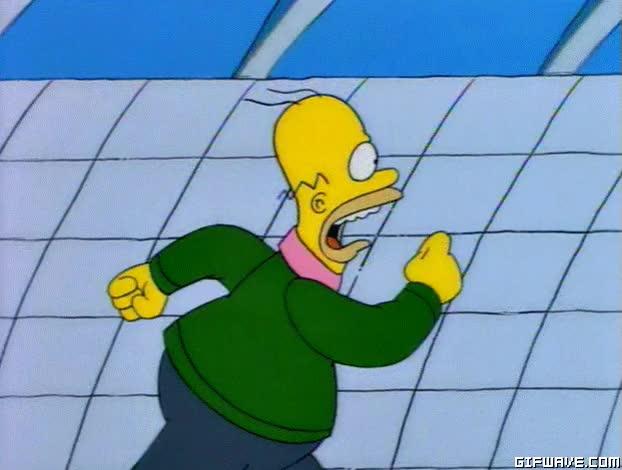 Watch and share Homero Simpson GIFs on Gfycat