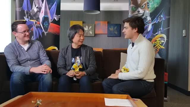 Watch Shigeru miyamoto denied high five GIF on Gfycat. Discover more cringepics, star fox 64, start fox zero GIFs on Gfycat