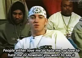 Watch and share Eminem Interview GIFs and Interview Gif GIFs on Gfycat